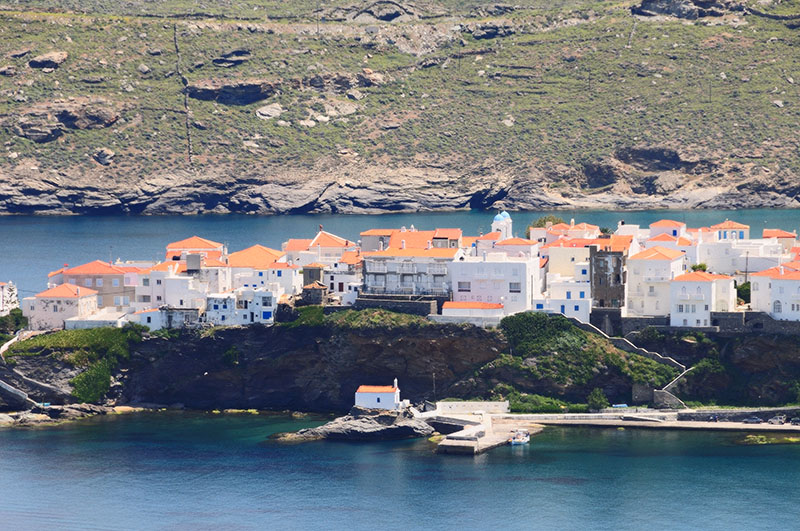 andros greece hora