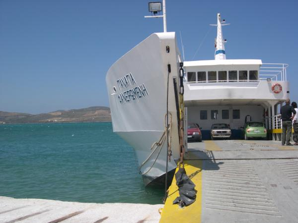 Ferry to ParosGreece