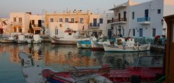 Filming on Paros
