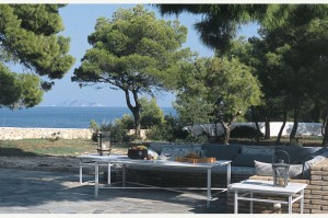 Spetses Luxury Villa Terrace