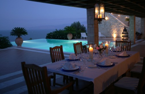 Luxury Dinner in a Greek Villa