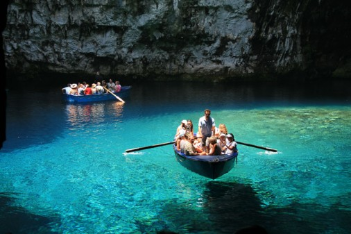 Lake of Melissani