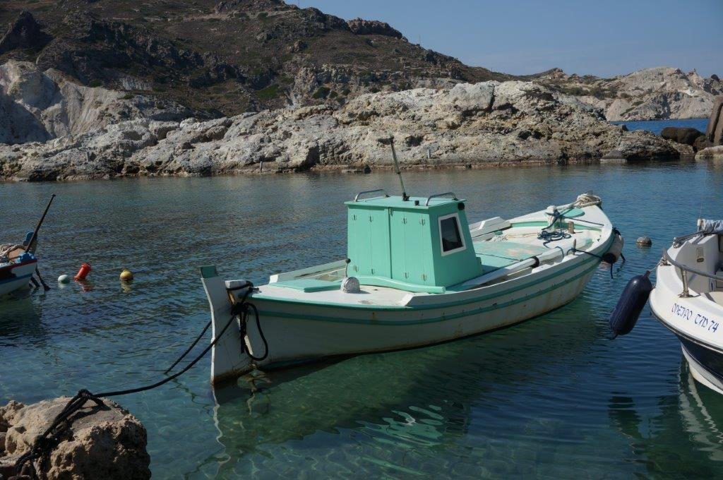 Fishing Boat in Mylos