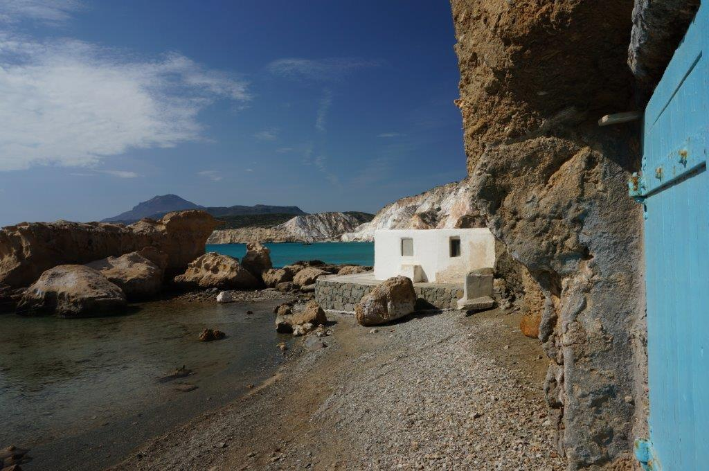 Beachfront House in Mylos Island Greece