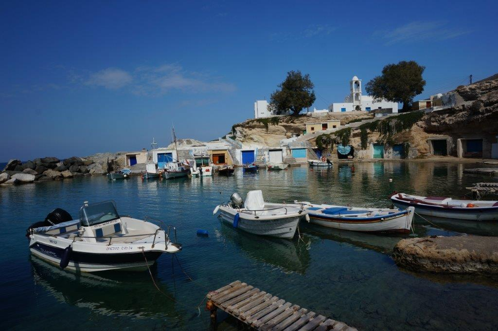 Fishing Boats in Mylos