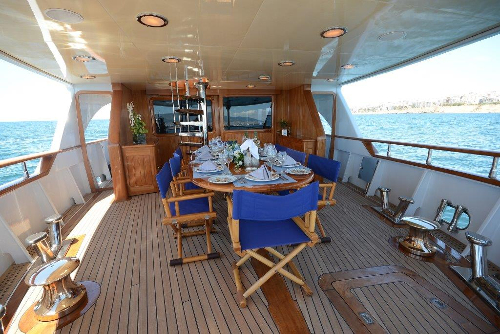 The Camellia Yacht In Greece A Classic Motor Yacht To