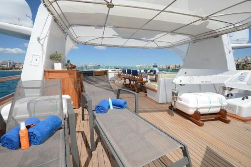 Yacht CAMELLIA - Sundeck 2