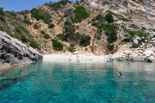 A Beach in Kephalonia island