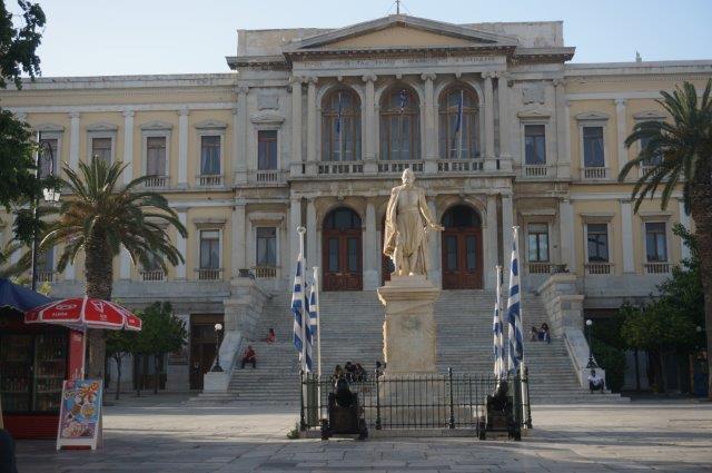Syros - Ermoupoli Town Hall