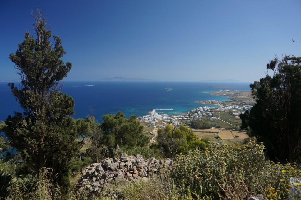 Harbour of Molos in Paros