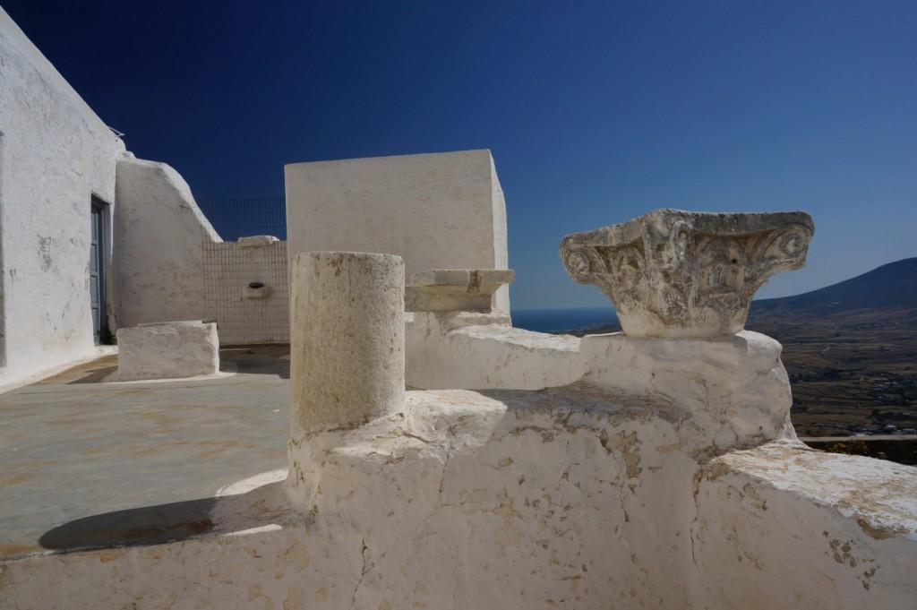 Ancient sculptures in Agios Antonios