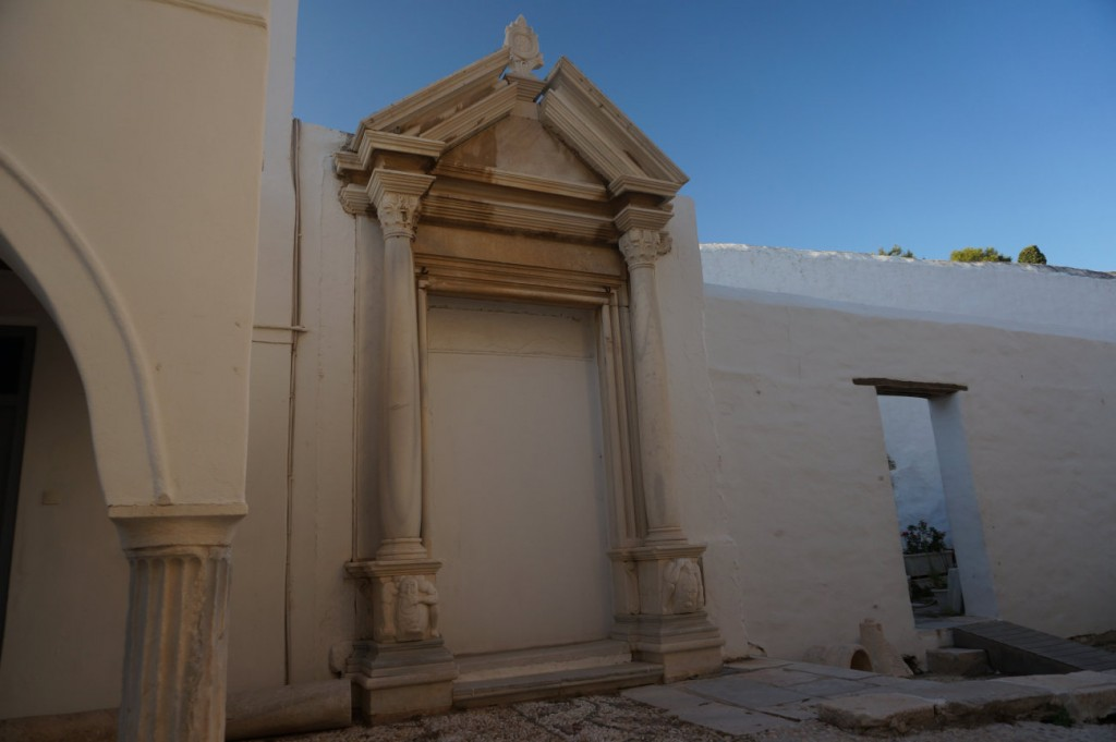 Byzantine Ekatontapiliani Church in Parikia, Paros