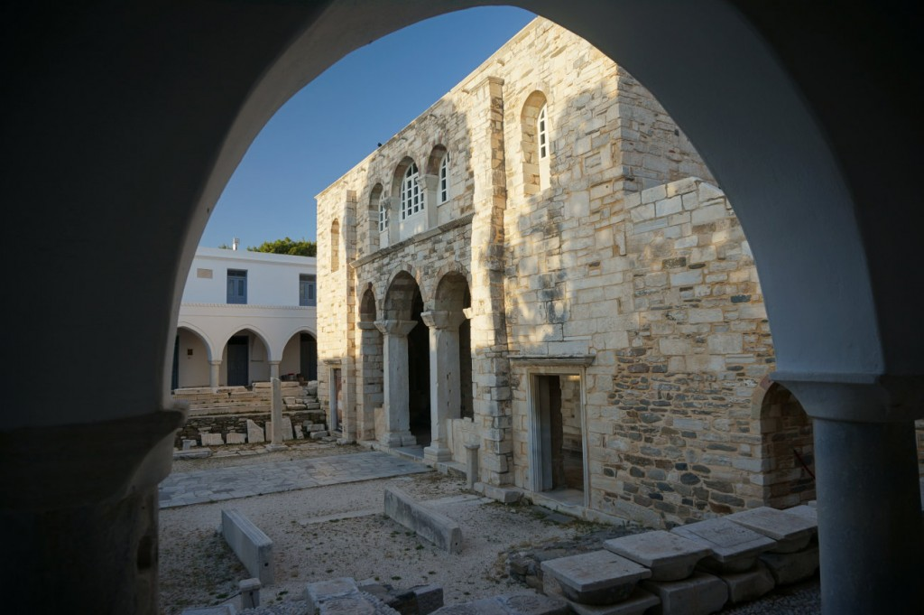 Byzantine Ekatontapiliani Church in Paros