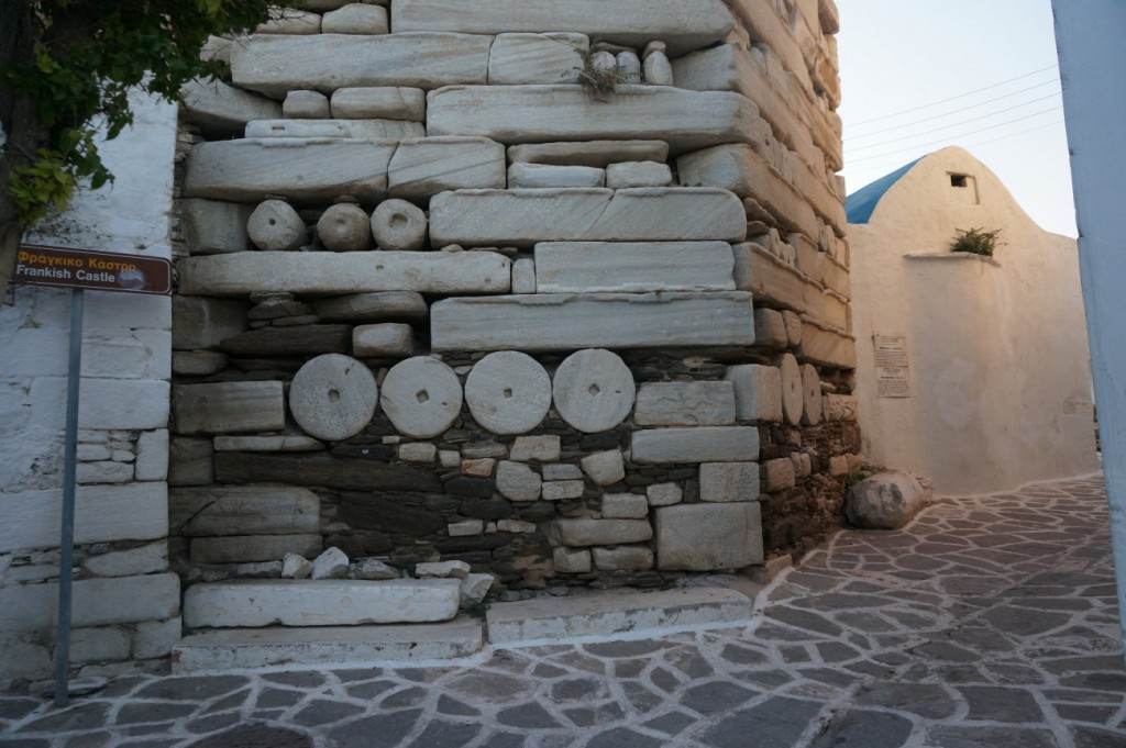 Frankish medieval masonry in Paros - Parikia