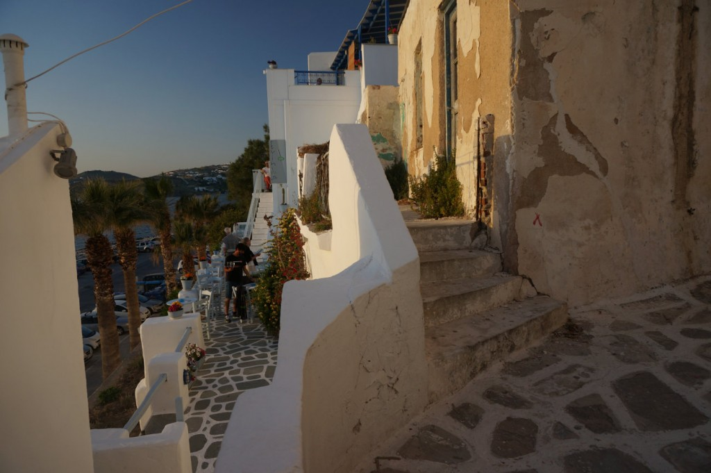 Picturesque Parikia in Paros