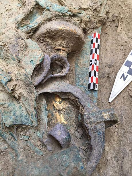 ancient greek findings in Pylos - Peloponesse