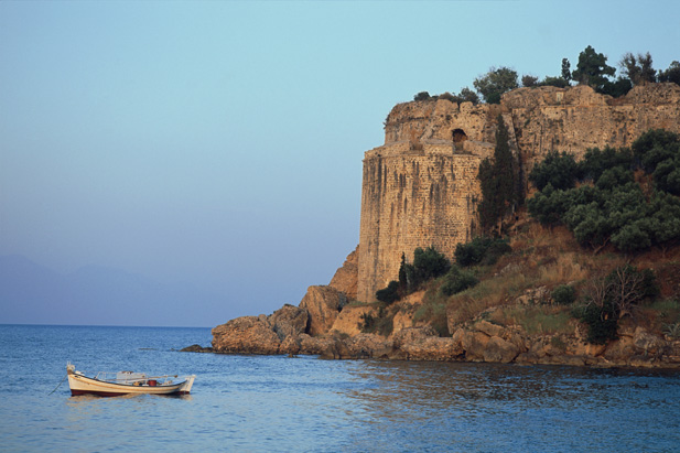 KORONI Castle close to Mani