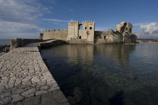 Methoni Castle in Pelloponnese