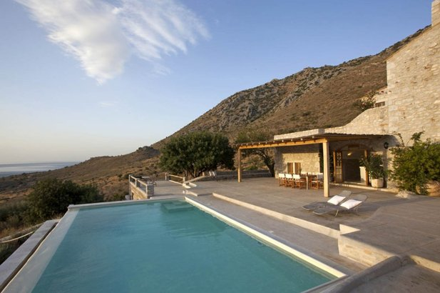 Private Villa with pool in Mani
