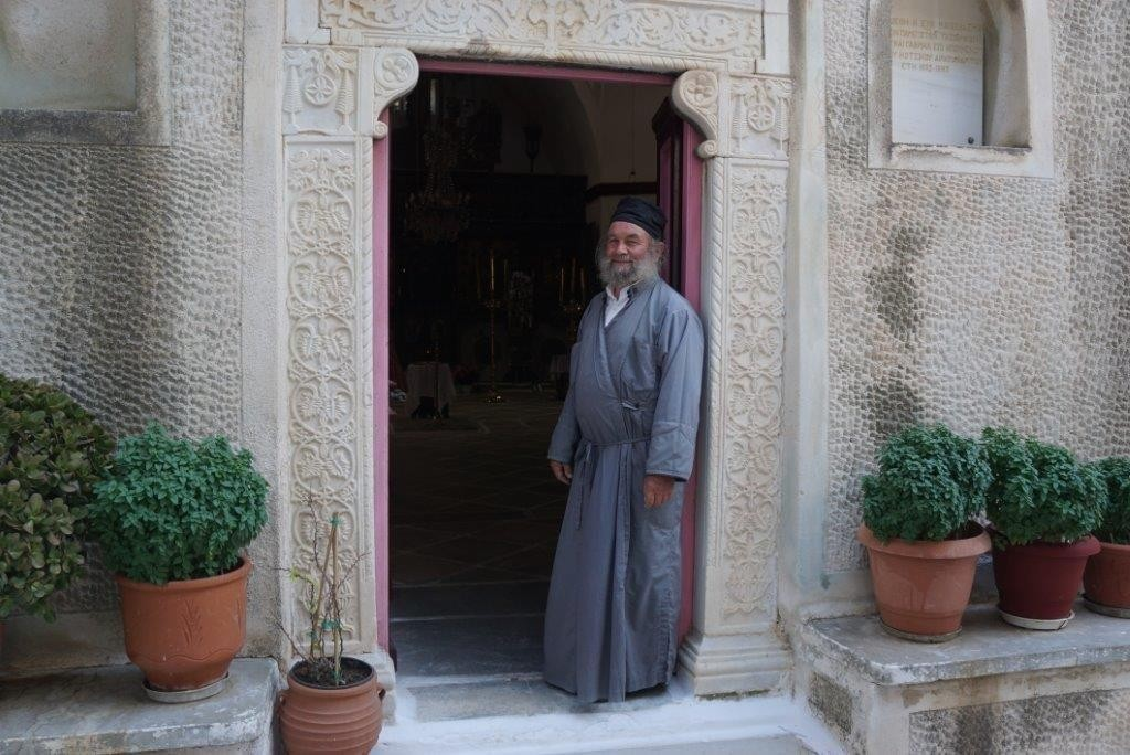 Priest in Serifos