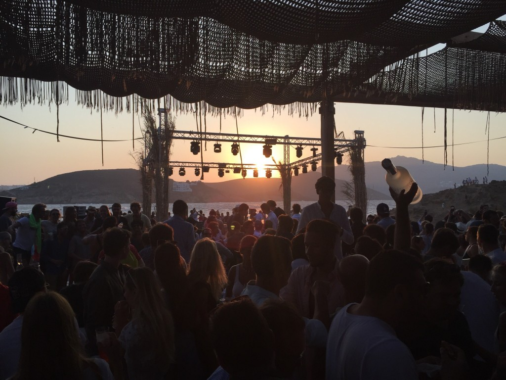 Beach Party at Mykonos