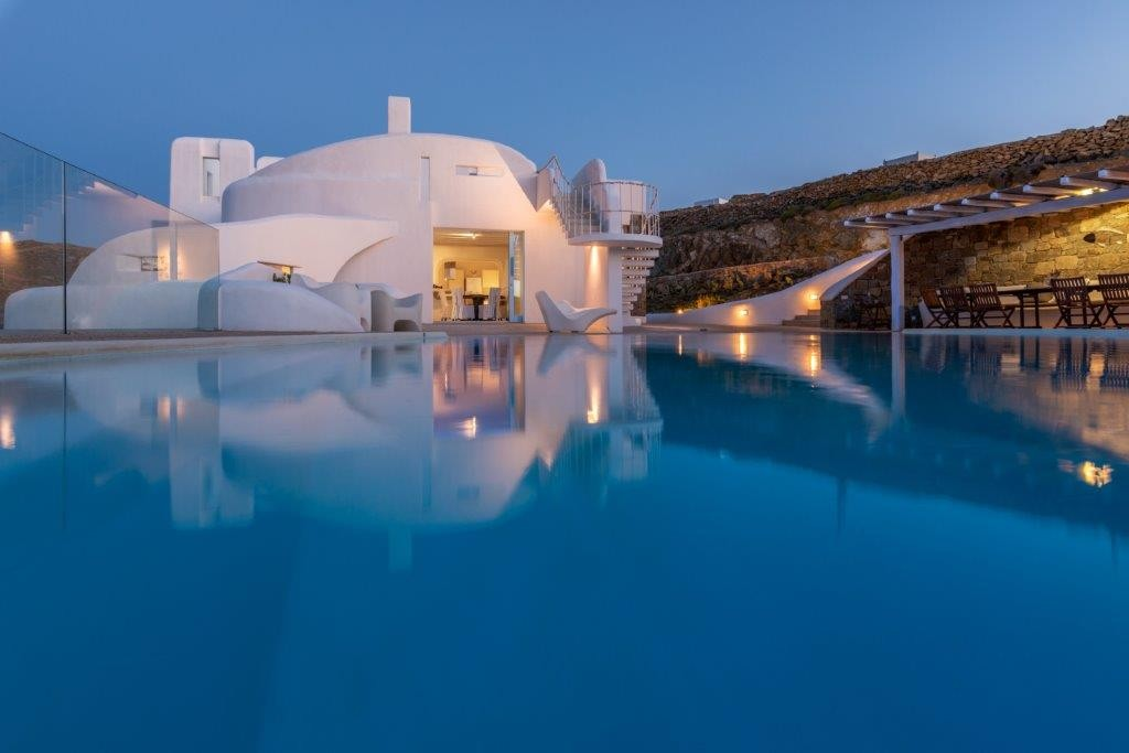 Mykonos Luxury Villa in Faros