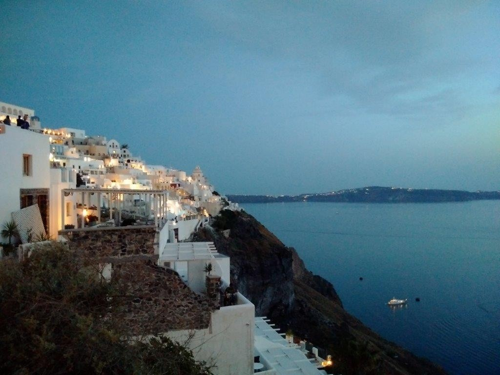Santorini in the afternoon