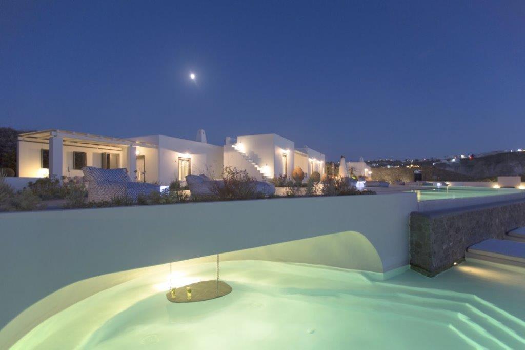 Swimming Pool in a Santorini Villa