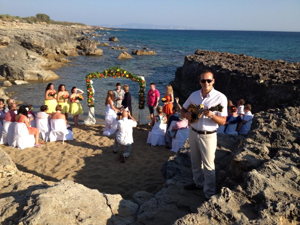 Greek Islands Wedding