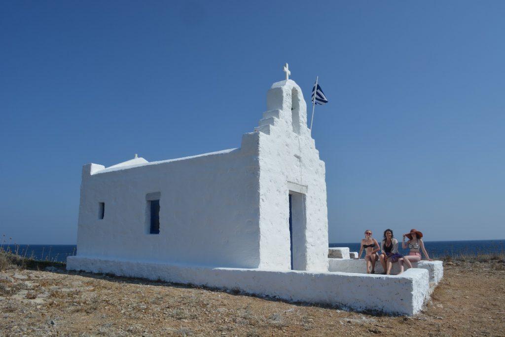 Church in Despotiko Antiparos