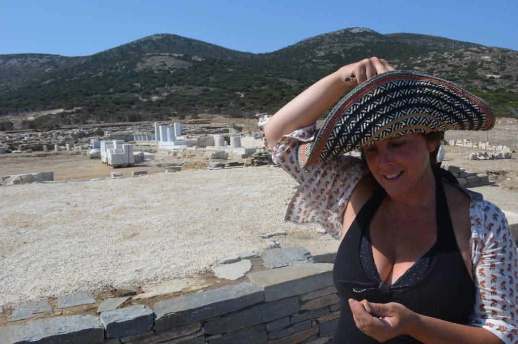 Visiting Despotiko in Antiparos