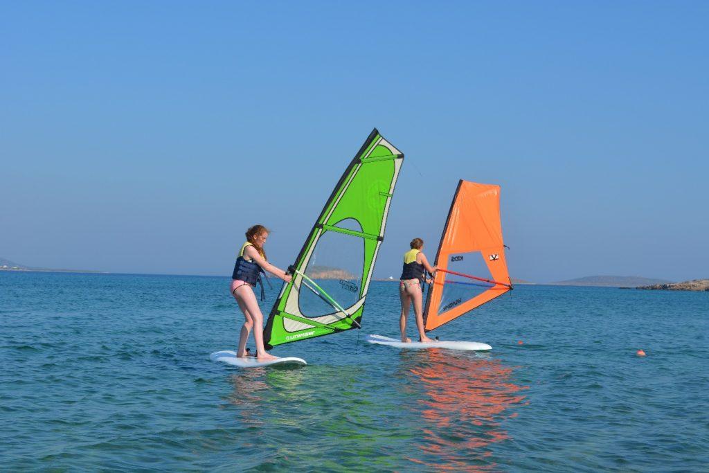 Windsurfing in Antiparos