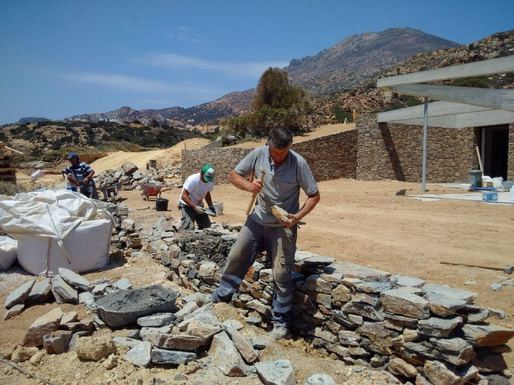 Building a Villa in Milos - 2905