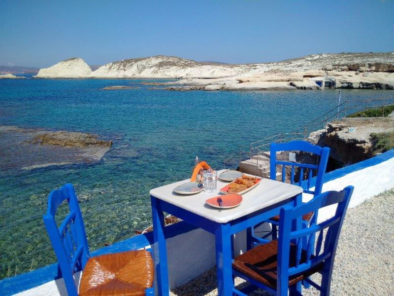 Seafood in Milos Taverna - 2905