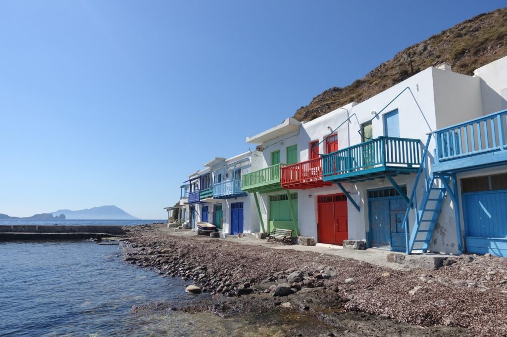Seafront Houses in Milos - 2905
