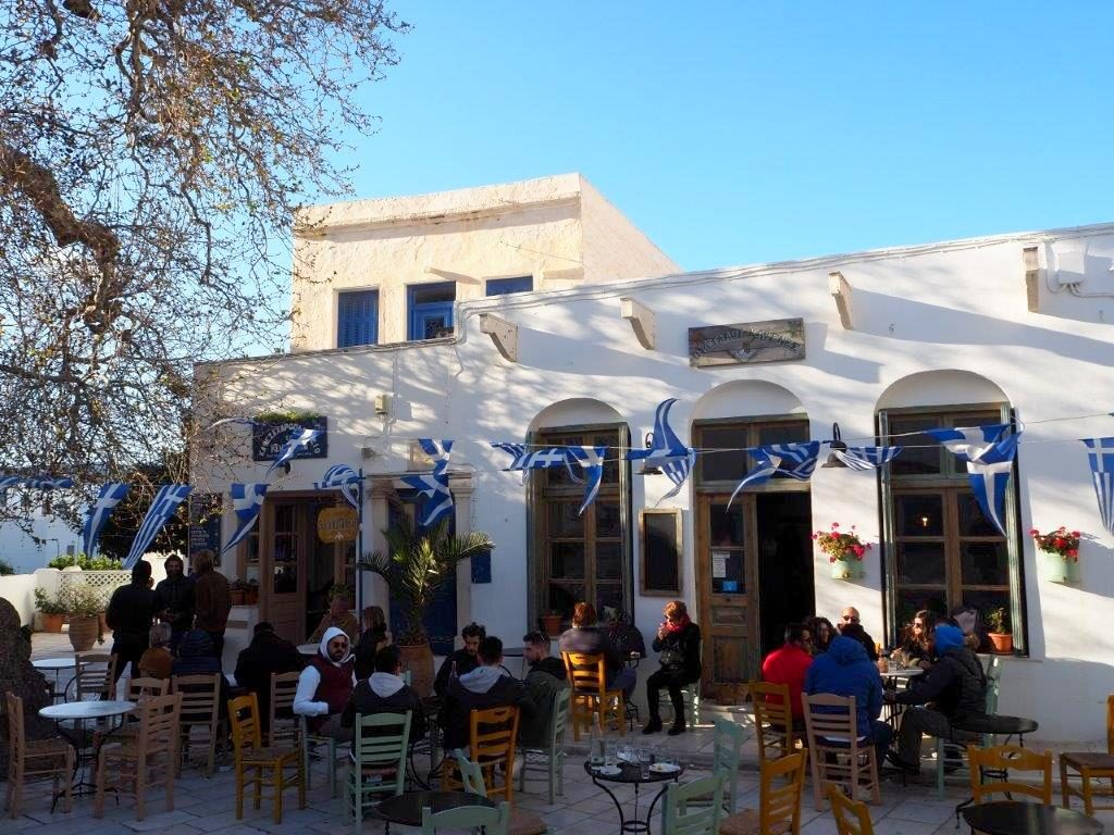 Tinos Cafe - Luxury Holidays in Tinos