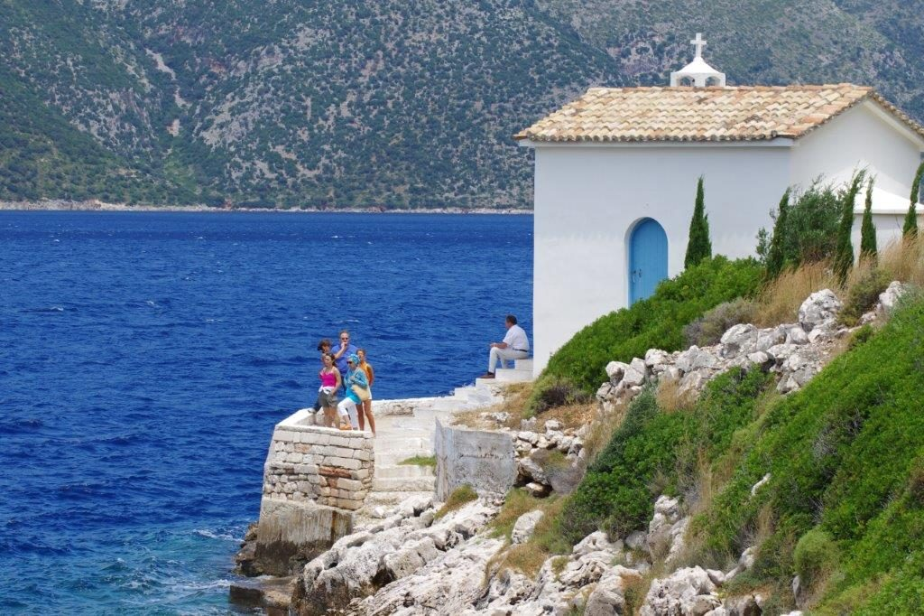 Small Church by the Sea in Ithaca - Greece